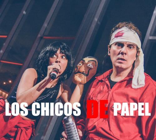 Banda para fiestas los chicos de papel